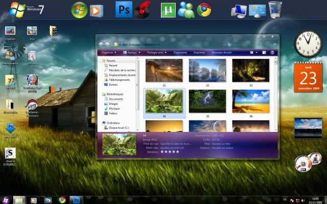 Tema para Windows 7: Aero X 2.0