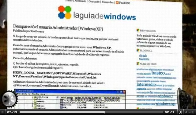 La guía de Windows en LEMON.tv