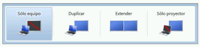 Configurar 2 o más monitores en Windows Seven