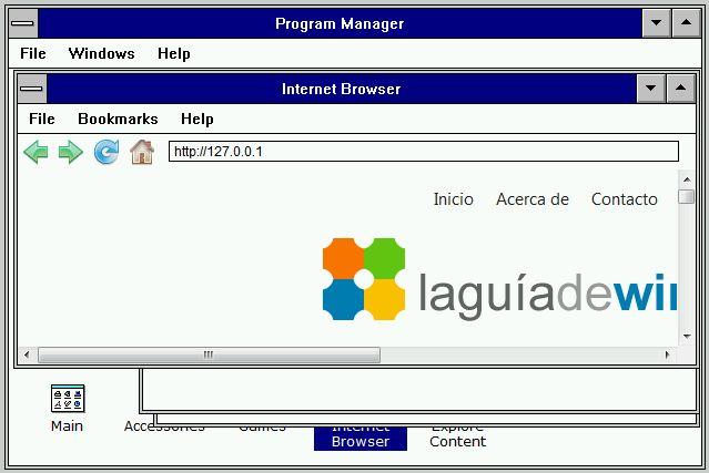 Emulador de Windows 3.1