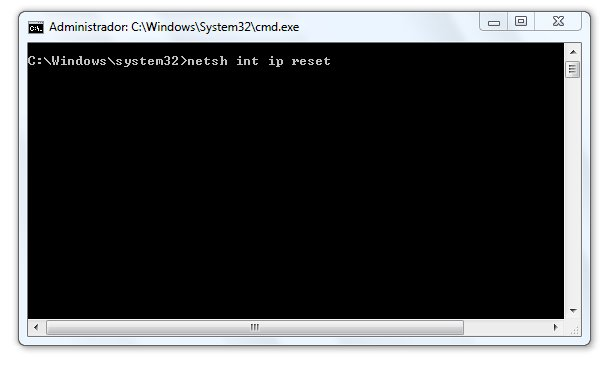 Resetear Winsocks Windows Vista y Windows 7