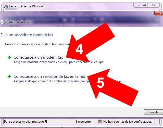 Fax en Windows 7