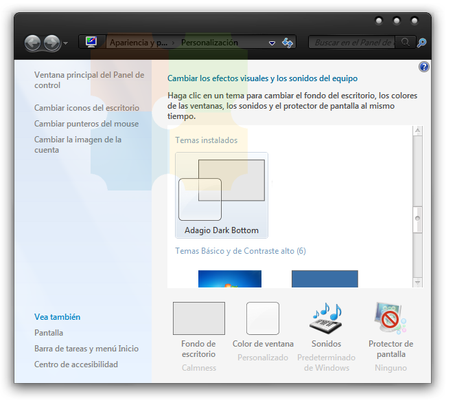 Parchear y cambiar theme en Windows 7