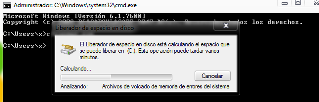 Limpiar el disco en Windows 7