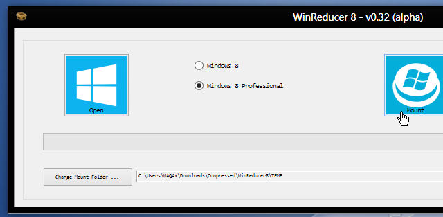 Windows 8 reducer
